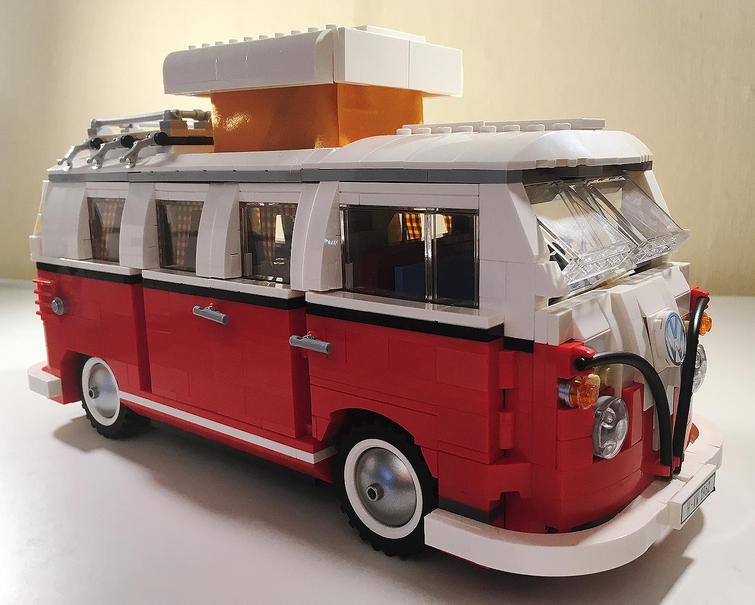 lego bulli test creator volkswagen t1 campingbus 10220. Black Bedroom Furniture Sets. Home Design Ideas
