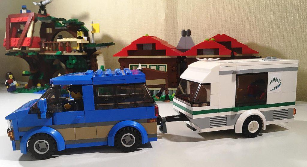 Lego City Auto Van Amp Wohnwagen 60117 ᐅ Review Lego