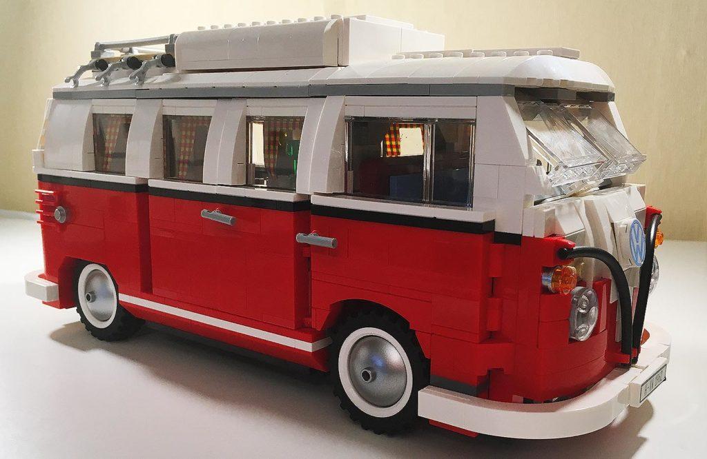 Lego Bulli Test ᐅ Creator Volkswagen T1 Campingbus 10220